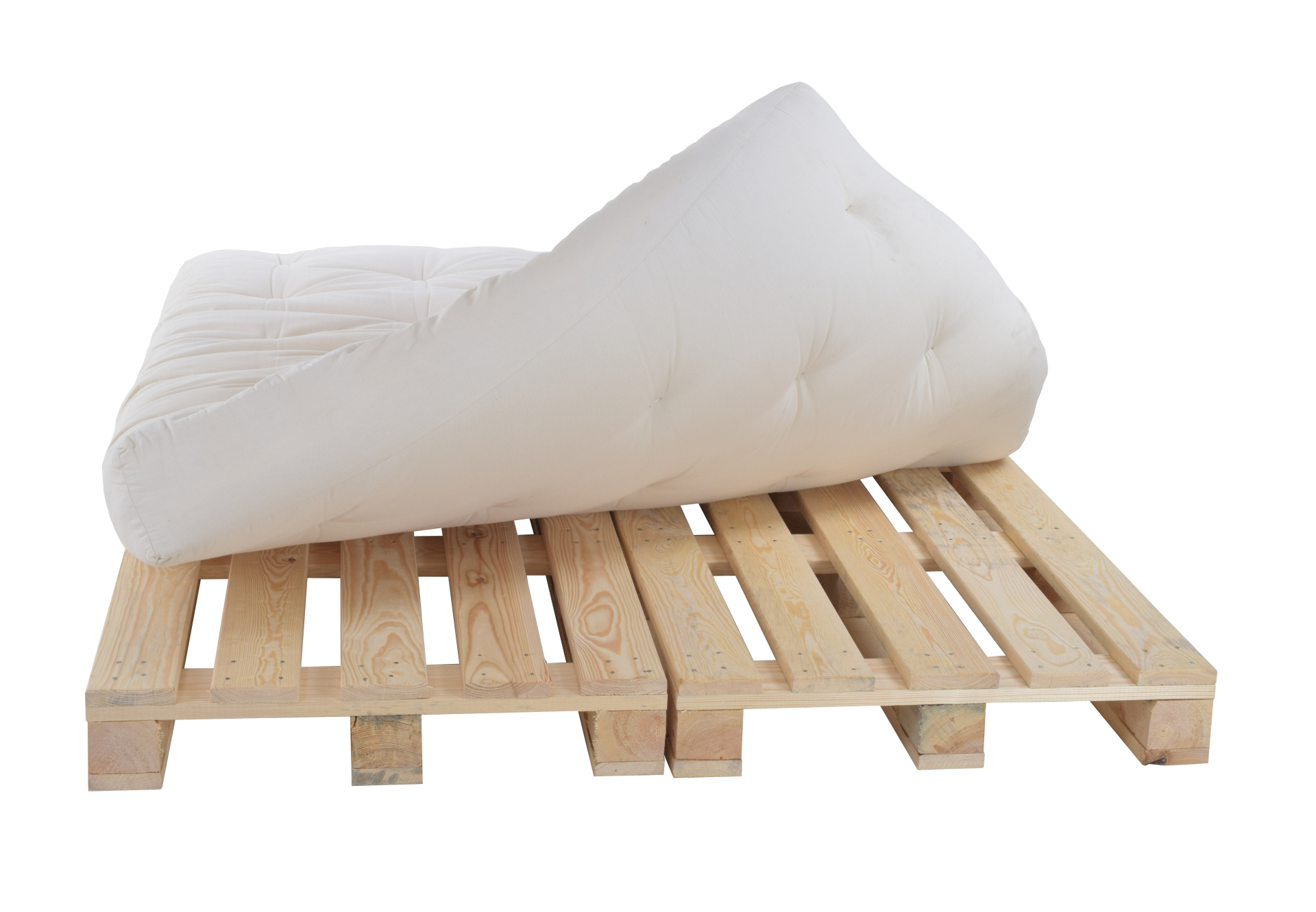 palettenbett 160x240 komplett mit paletten ebay. Black Bedroom Furniture Sets. Home Design Ideas