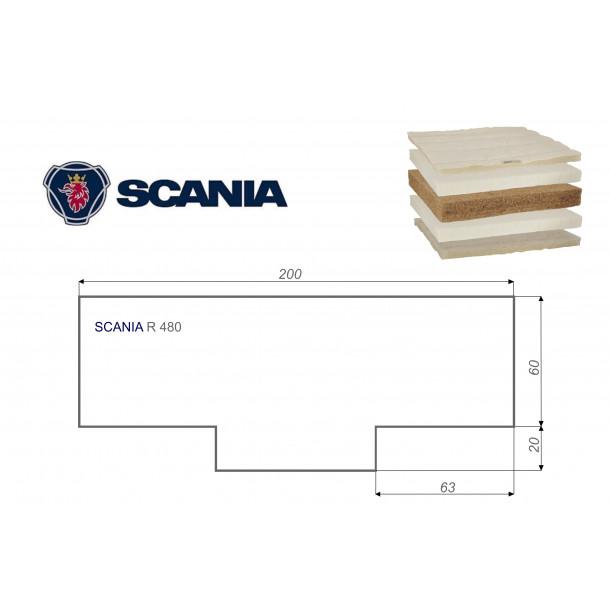 SCANIA R 480 80x200 cm LKW Matratze Vita-line Extra Plus