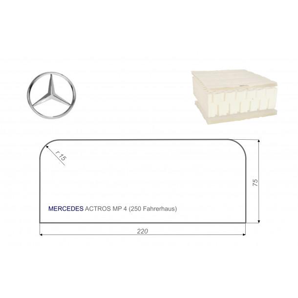 Mercedes ACTROS MP4 75x220 cm LKW Matratze Vita-line Pur Light