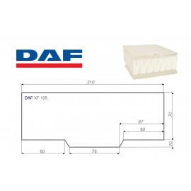 DAF XF 105 80x210 cm LKW Matratze Vita-line Pur Light