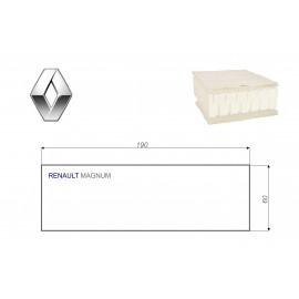 Renault MAGNUM 60x190 cm LKW Matratze Vita-line Pur Light