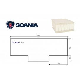 SCANIA R 480 80x200 cm LKW Matratze Vita-line Pur Light