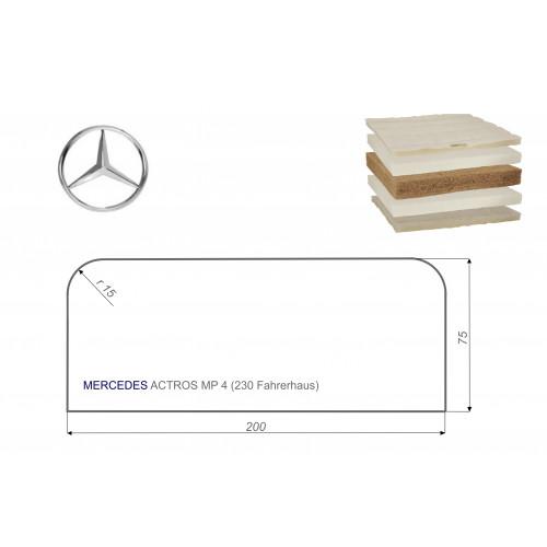 Mercedes ACTROS MP4 75x200 cm LKW Matratze Vita-line Extra Plus
