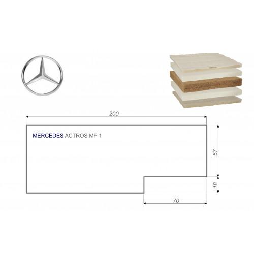 Mercedes ACTROS MP1 75x200 cm LKW Matratze Vita-line Extra Plus