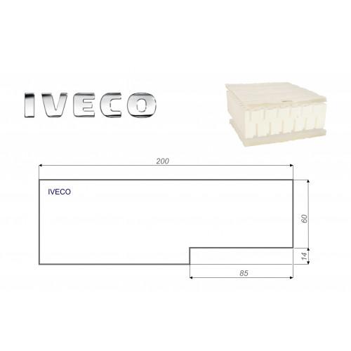 IVECO 60x200 cm LKW Matratze Vita-line Pur Light