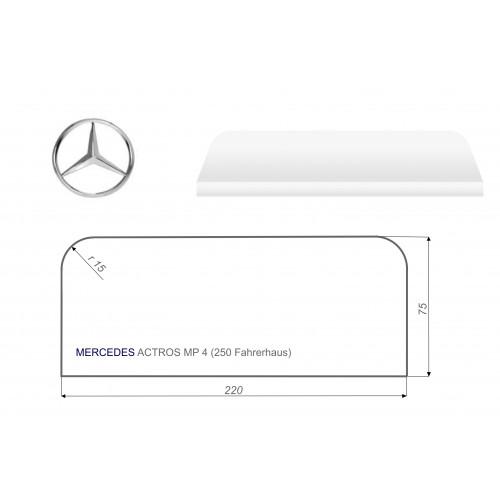 Mercedes ACTROS MP4 75x220 cm LKW Matratze Vita-line Foam