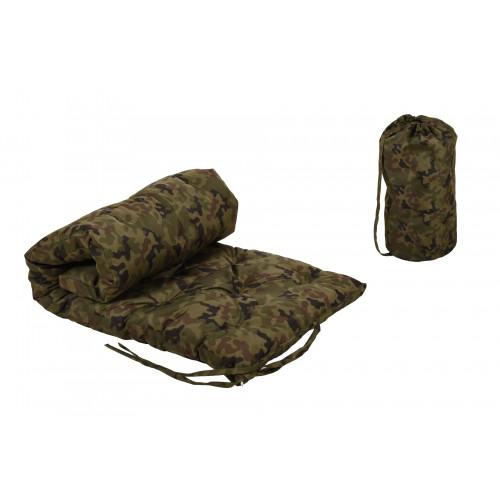 Futon military look Reisematratze Rollbar Gästematratze incl. Bag