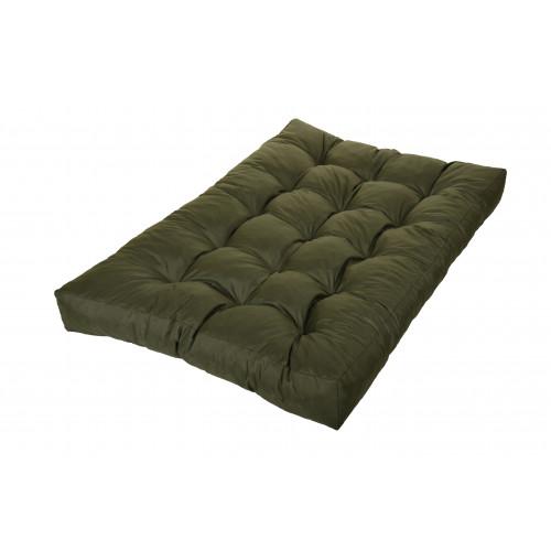 Palettenkissen Outdoor Farbe: FX09 Olive, Größe: 120 x 80 x 15 cm Sitzauflage