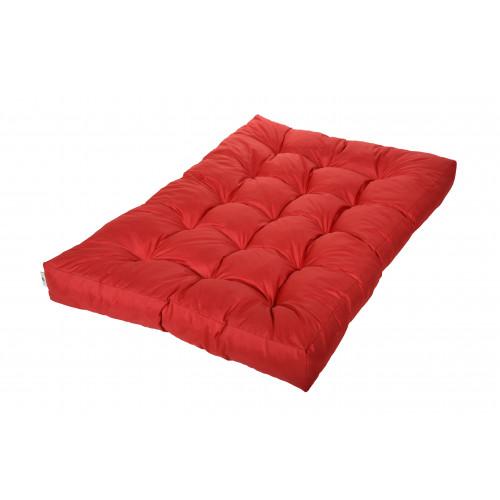 Palettenkissen Outdoor Farbe: FX13 Rot, Größe: 120 x 80 x 15 cm Sitzauflage