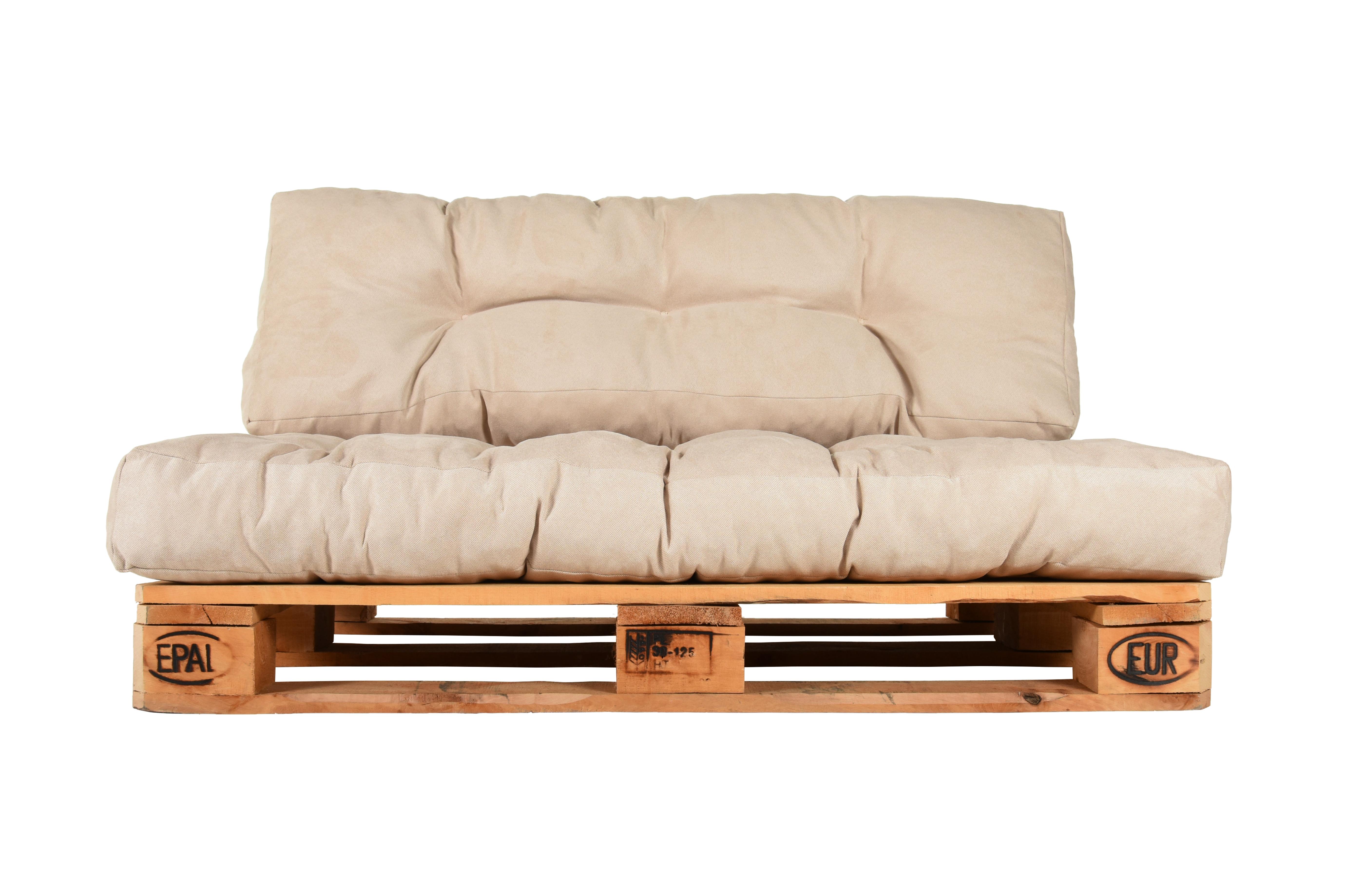 Palettenkissen palettenpolster palettensofa polster for Couch auflage
