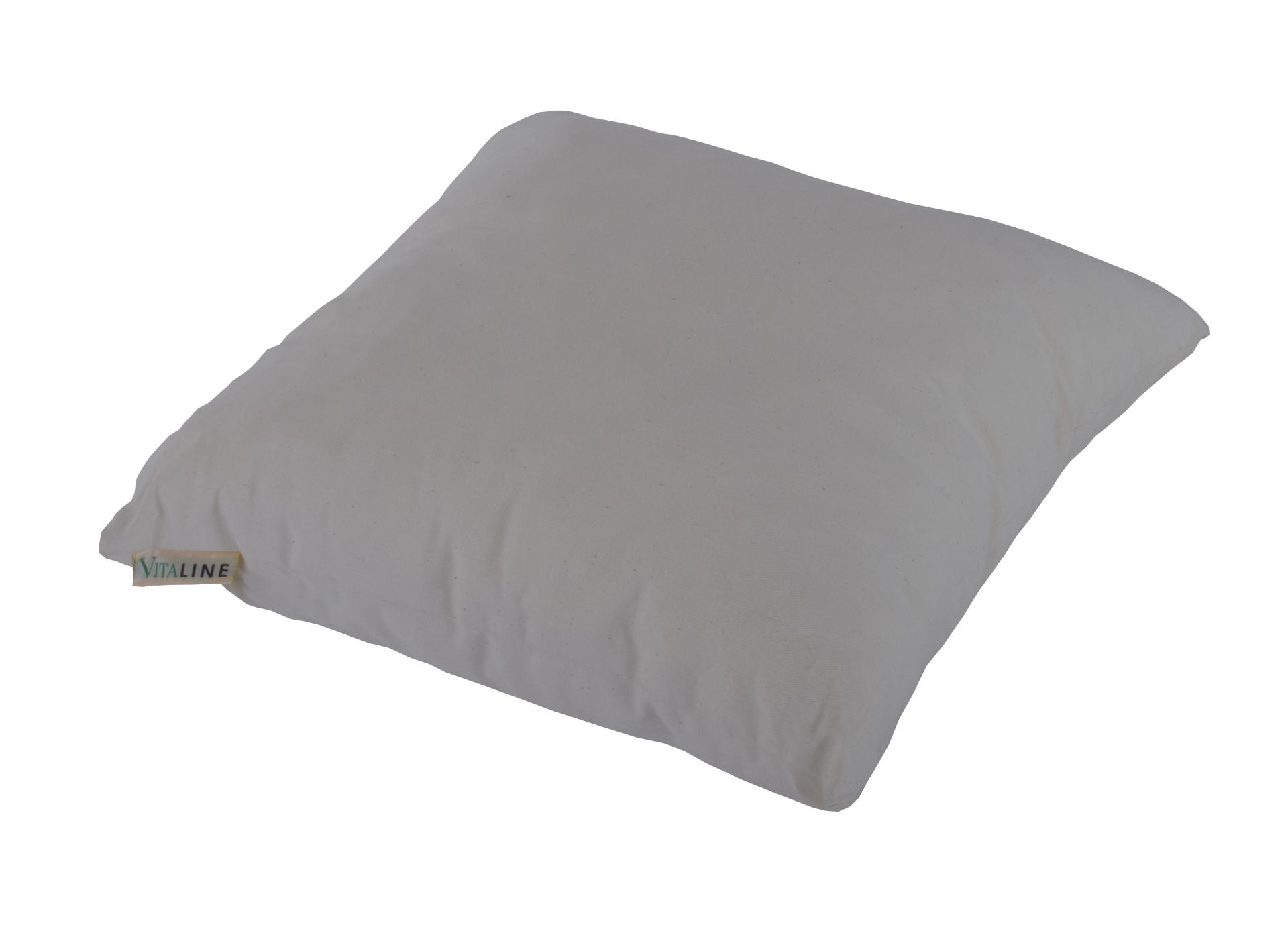 natur latex kissen 40 x 40 x 14 cm ebay. Black Bedroom Furniture Sets. Home Design Ideas