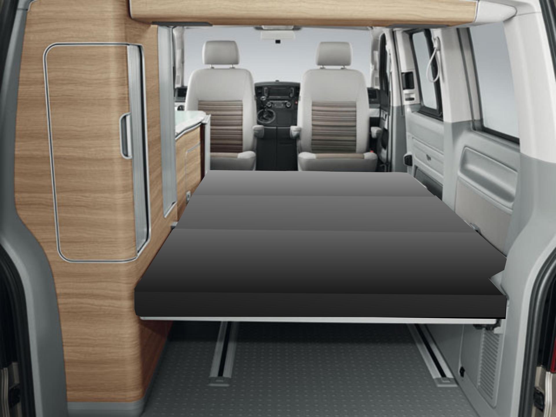 foam matratze vw t5 t6 california mercedes viano marco. Black Bedroom Furniture Sets. Home Design Ideas