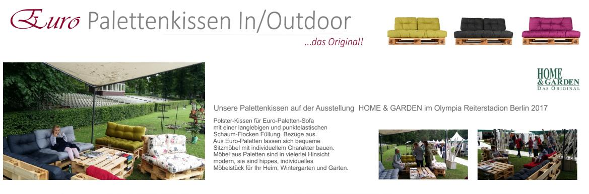 Euro Palettenkissen Indoor Outdoor